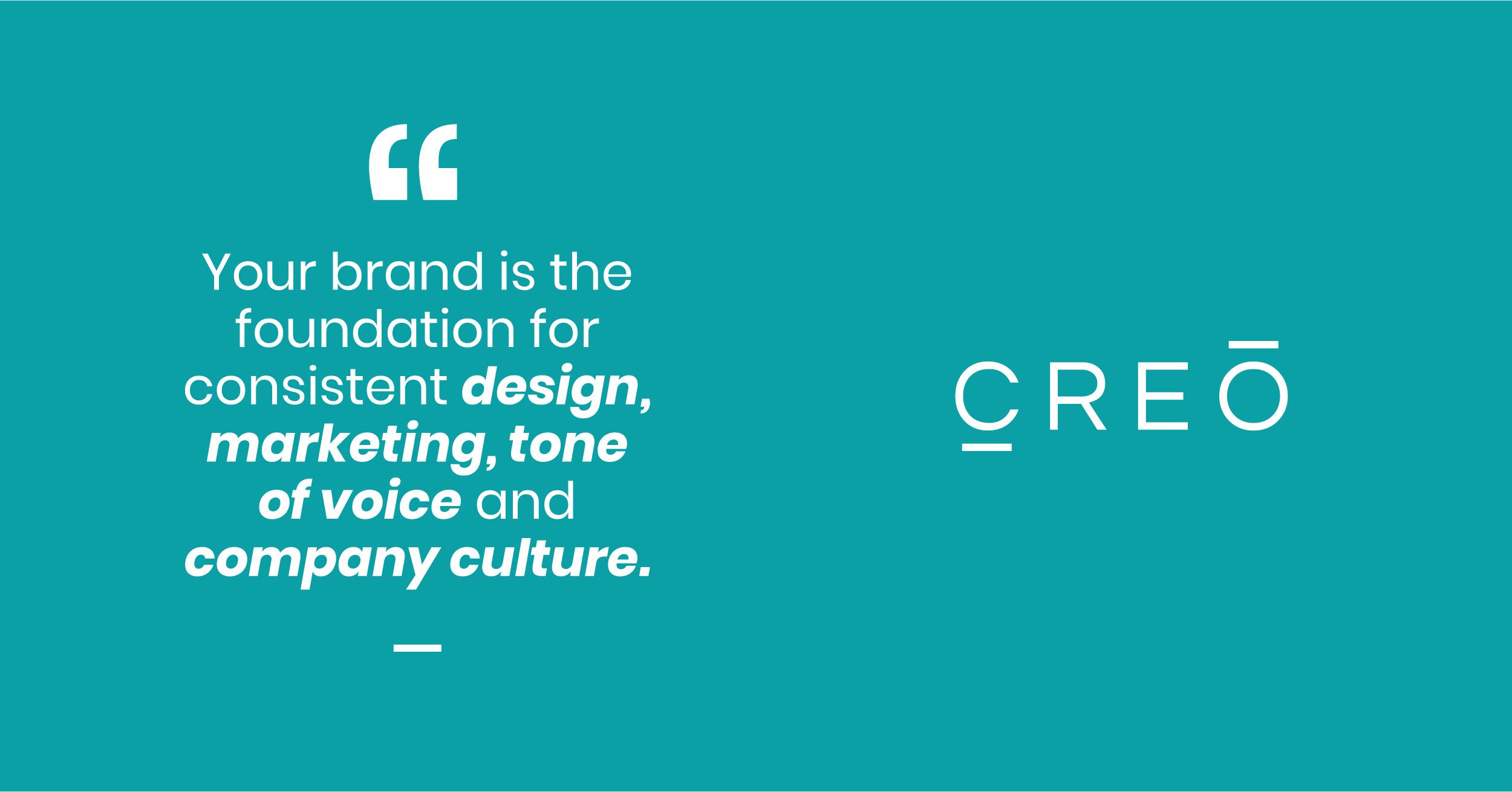 Creo Branding Quote
