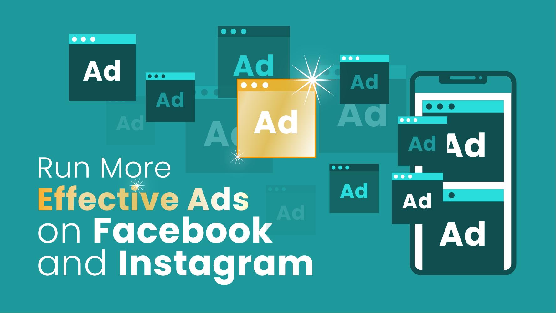 Effective Instagram and Facebook ads